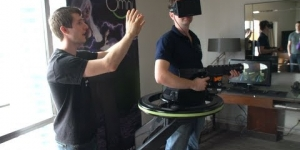 Virtuix Omni Prototype Unboxing & Technology Overview
