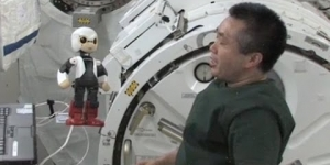 ► Kirobo the first robot to have a conversation in space
